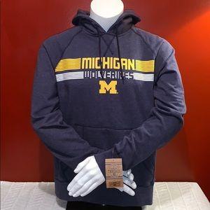 Knights Apparel Men's Michigan Wolverines Hoodie
